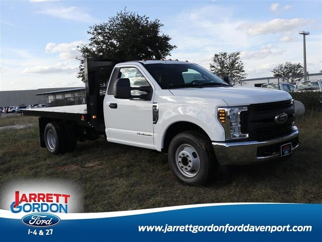 2019 F-350 Regular Cab DRW 4x2,  Knapheide Value-Master X Platform Body #40608 - photo 1