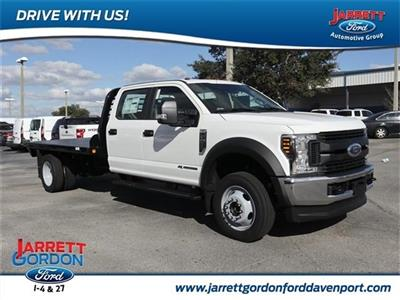 2019 F-450 Crew Cab DRW 4x4,  CM Truck Beds RD Model Platform Body #40663 - photo 1