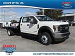 2019 F-450 Crew Cab DRW 4x4,  CM Truck Beds Platform Body #40663 - photo 1