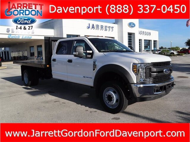 2019 Ford F-450 Crew Cab DRW 4x2, Knapheide Platform Body #41736 - photo 1