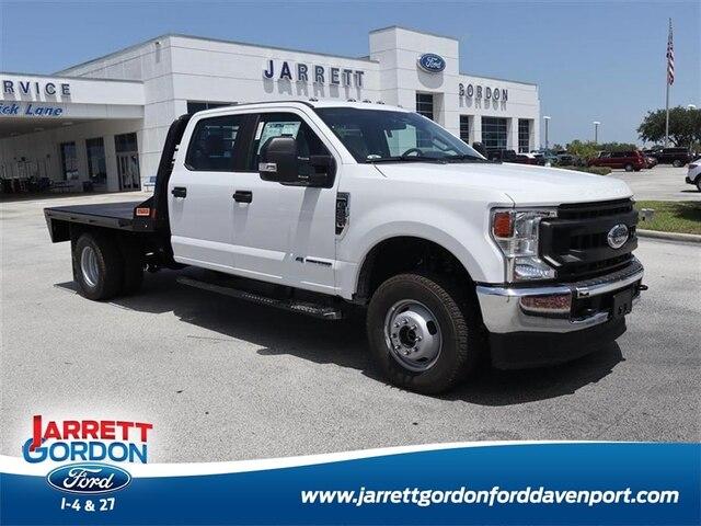 2020 Ford F-350 Crew Cab DRW 4x4, CM Truck Beds Platform Body #42587 - photo 1