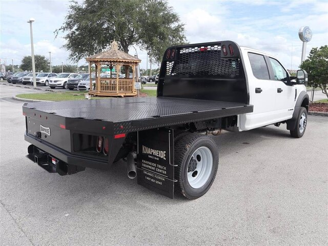 2020 Ford F-450 Crew Cab DRW 4x4, Knapheide Platform Body #42904 - photo 1