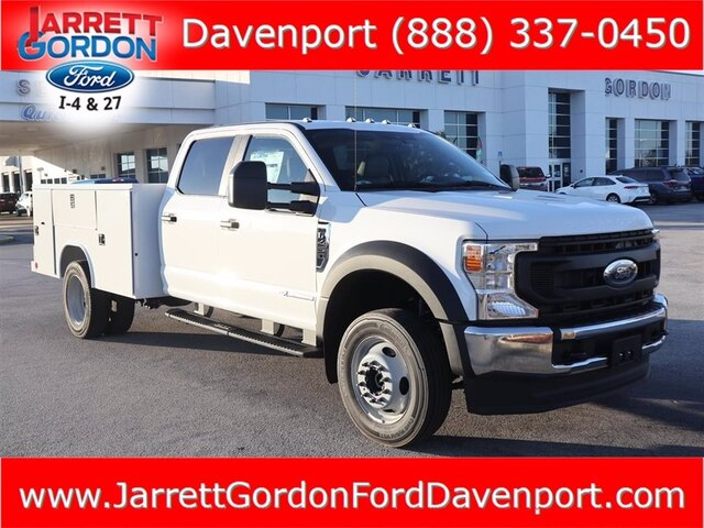 2021 Ford F-450 Crew Cab DRW 4x4, Reading Service Body #43713 - photo 1