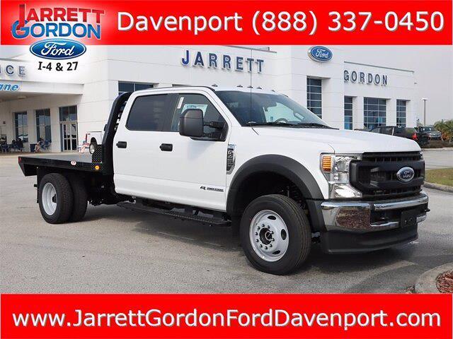 2021 Ford F-450 Crew Cab DRW 4x4, Rayside Truck & Trailer Platform Body #43902 - photo 1