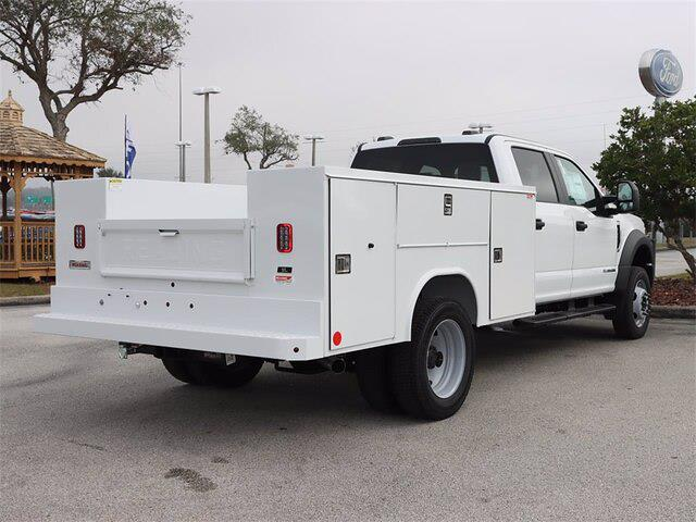 2021 Ford F-450 Crew Cab DRW 4x4, Reading Service Body #43925 - photo 1