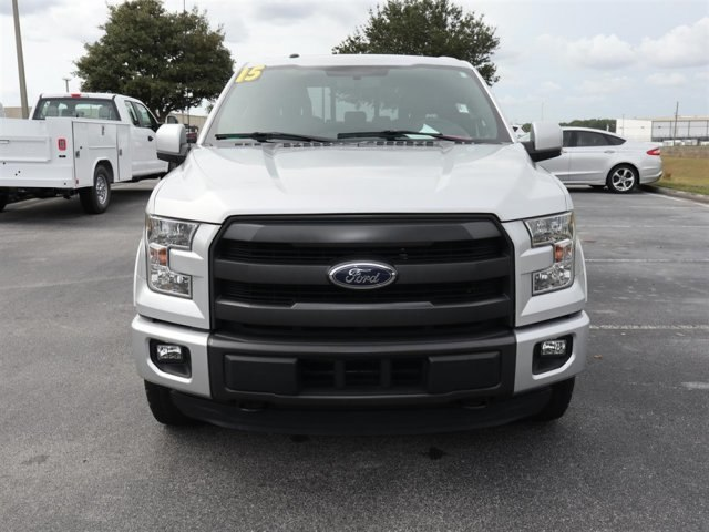 2015 F-150 Crew Cab 4x4,  Pickup #A17620 - photo 3