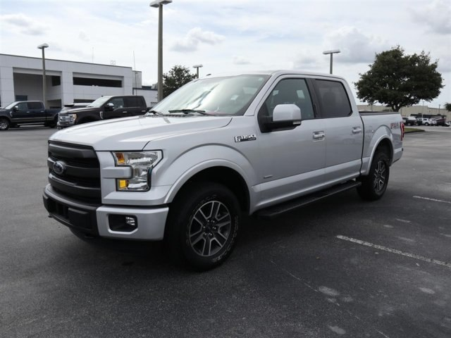 2015 F-150 Crew Cab 4x4,  Pickup #A17620 - photo 4