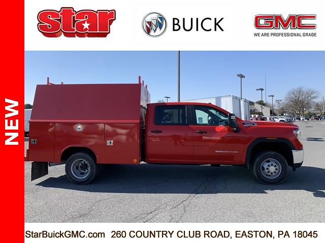 2021 GMC Sierra 3500 Crew Cab 4x4, Reading Service Body #110082 - photo 4