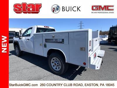 2021 GMC Sierra 3500 Regular Cab 4x4, Reading Classic II Steel Service Body #110095 - photo 2