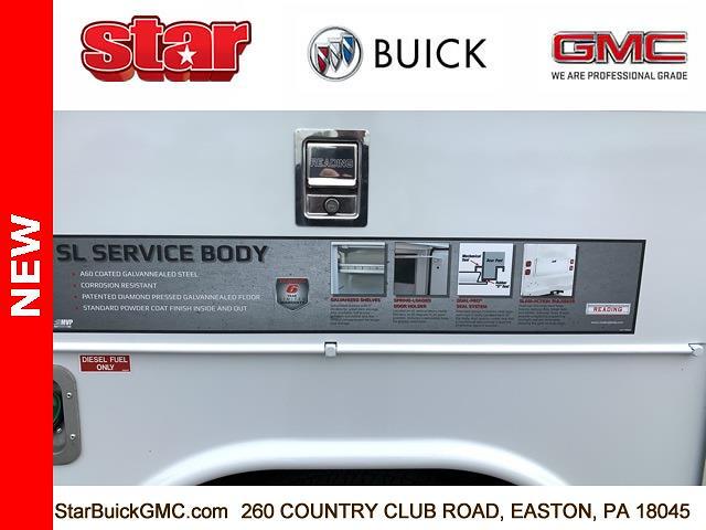 2021 GMC Sierra 3500 Regular Cab 4x4, Reading SL Service Body #110113 - photo 23