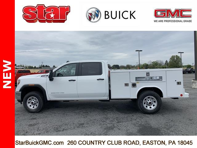 2021 GMC Sierra 3500 Crew Cab 4x4, Reading SL Service Body #110124 - photo 6