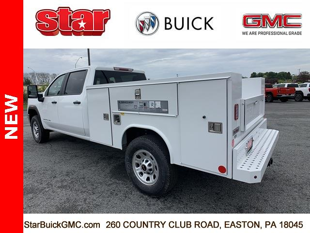 2021 GMC Sierra 3500 Crew Cab 4x4, Reading SL Service Body #110124 - photo 7
