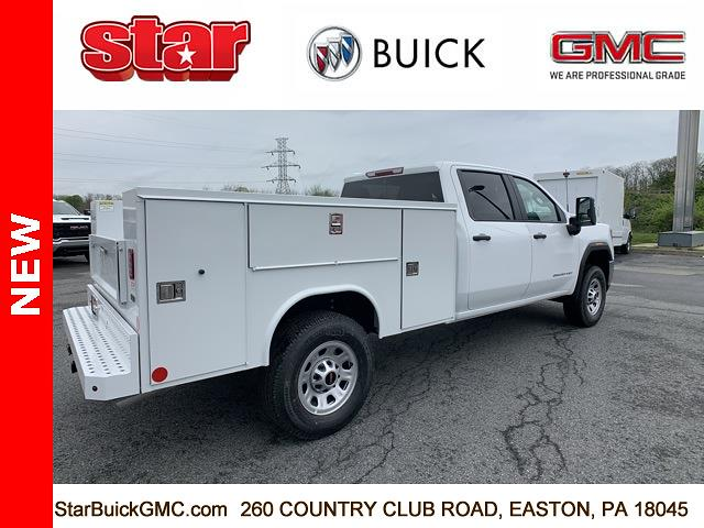 2021 GMC Sierra 3500 Crew Cab 4x4, Reading SL Service Body #110124 - photo 2