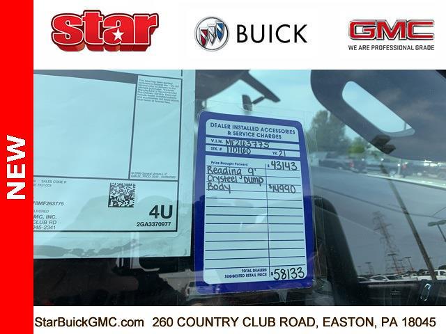 2021 GMC Sierra 3500 Regular Cab 4x4, Crysteel Dump Body #110160 - photo 26