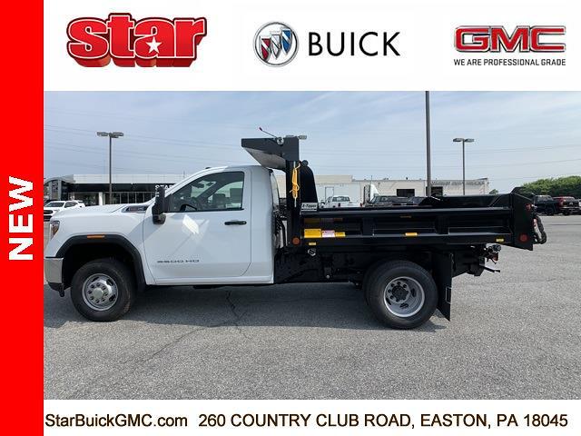 2021 GMC Sierra 3500 Regular Cab 4x4, Crysteel Dump Body #110160 - photo 6