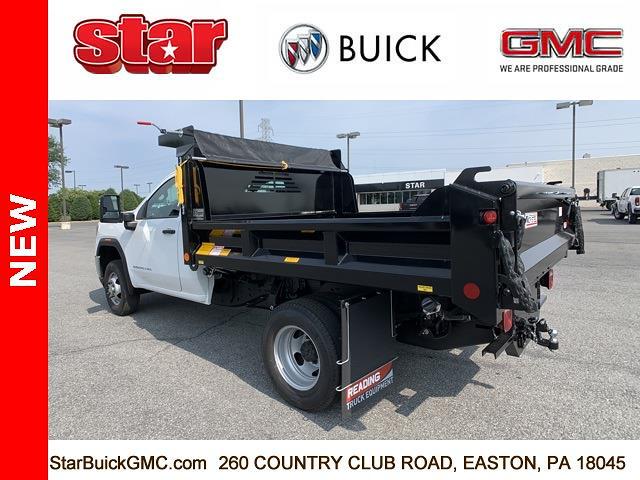 2021 GMC Sierra 3500 Regular Cab 4x4, Crysteel Dump Body #110160 - photo 7