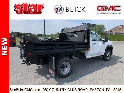 2021 GMC Sierra 3500 Regular Cab 4x4, Crysteel Dump Body #110160 - photo 2