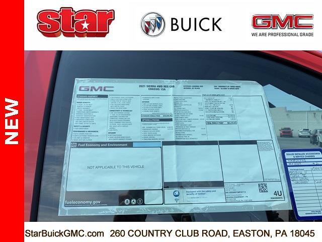 2021 GMC Sierra 3500 Regular Cab 4x4, Reading Panel Service Body #110169 - photo 29