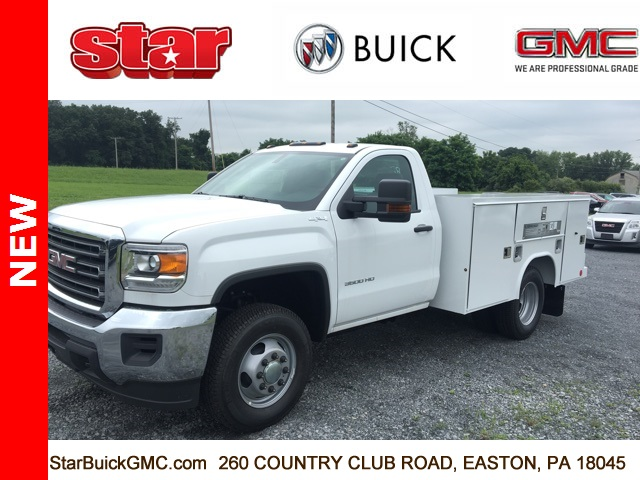 2017 Sierra 3500 Regular Cab DRW 4x4, Reading SL Service Body Service Body #170095 - photo 1