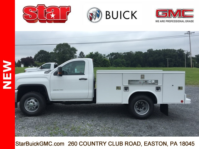 2017 Sierra 3500 Regular Cab DRW 4x4, Reading SL Service Body Service Body #170095 - photo 6