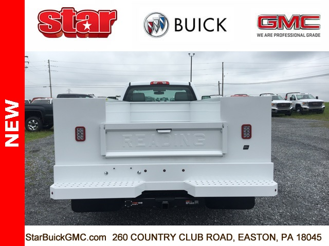 2017 Sierra 3500 Regular Cab DRW 4x4, Reading SL Service Body Service Body #170095 - photo 7