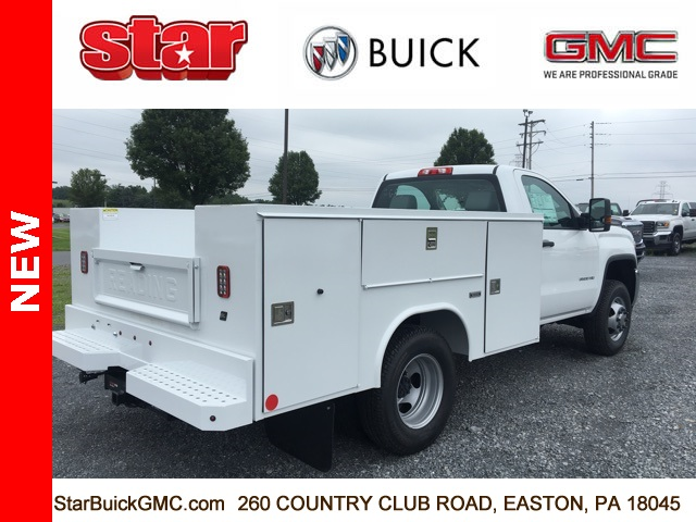 2017 Sierra 3500 Regular Cab DRW 4x4, Reading SL Service Body Service Body #170095 - photo 8