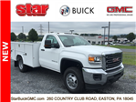 2017 Sierra 3500 Regular Cab DRW 4x4, Reading SL Service Body Service Body #170095 - photo 3