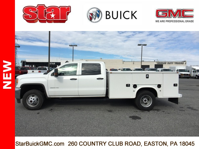 2017 Sierra 3500 Crew Cab DRW 4x4,  Service Body #170123 - photo 6