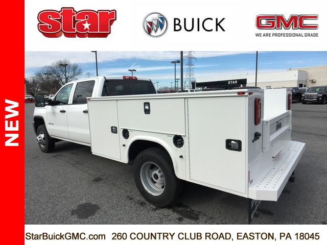 2017 Sierra 3500 Crew Cab DRW 4x4,  Service Body #170123 - photo 2