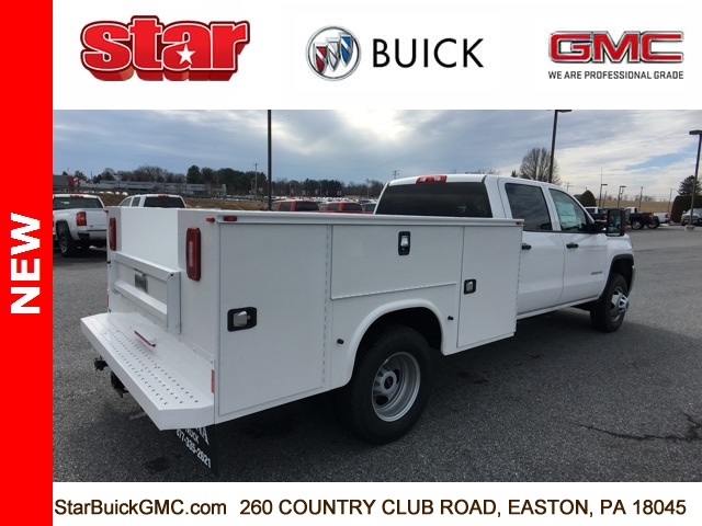2017 Sierra 3500 Crew Cab DRW 4x4,  Service Body #170123 - photo 8