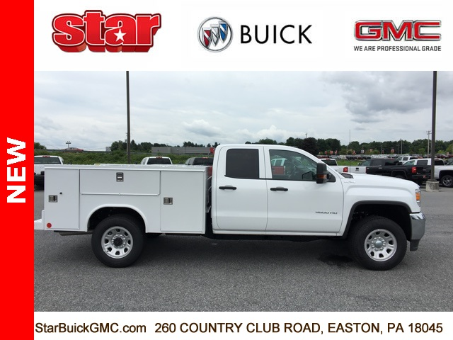 2018 Sierra 3500 Extended Cab 4x4,  Reading SL Service Body #180141 - photo 4