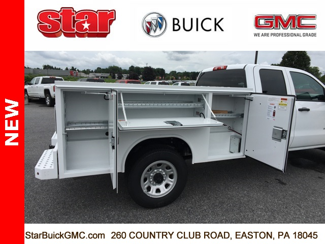 2018 Sierra 3500 Extended Cab 4x4,  Reading SL Service Body #180141 - photo 21