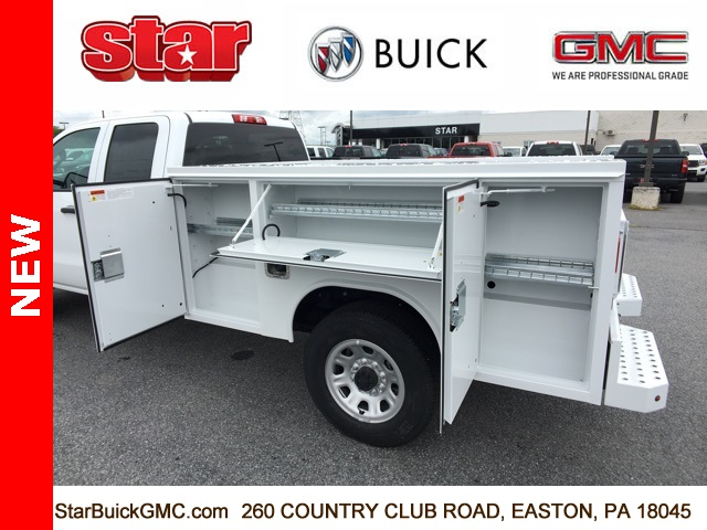 2018 Sierra 3500 Extended Cab 4x4,  Reading SL Service Body #180141 - photo 22