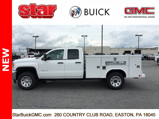 2018 Sierra 3500 Extended Cab 4x4,  Reading SL Service Body #180141 - photo 6