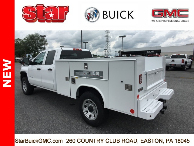 2018 Sierra 3500 Extended Cab 4x4,  Reading SL Service Body #180141 - photo 2