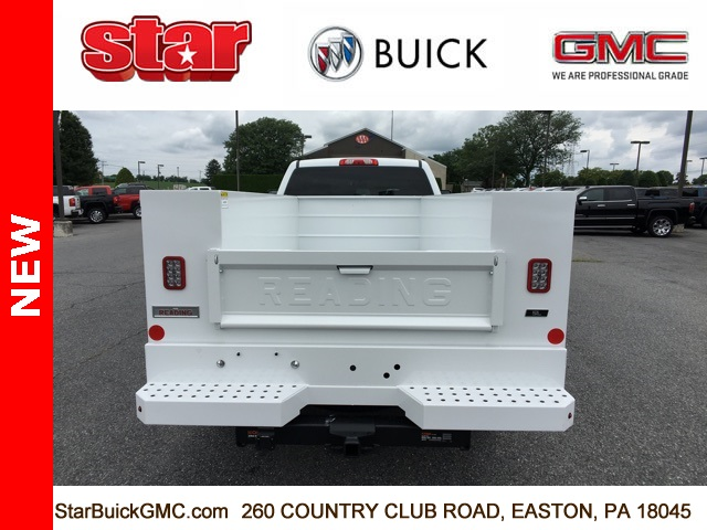 2018 Sierra 3500 Extended Cab 4x4,  Reading SL Service Body #180141 - photo 7