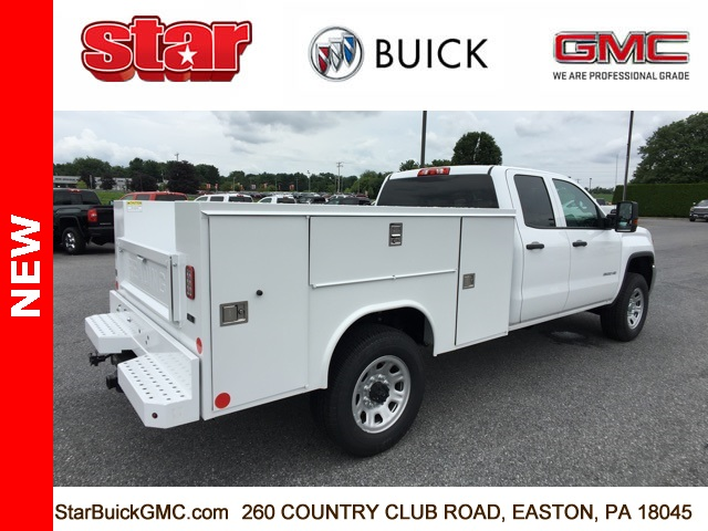 2018 Sierra 3500 Extended Cab 4x4,  Reading SL Service Body #180141 - photo 8