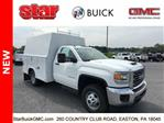 2018 Sierra 3500 Regular Cab DRW 4x4,  Reading Panel Service Body #180157 - photo 3