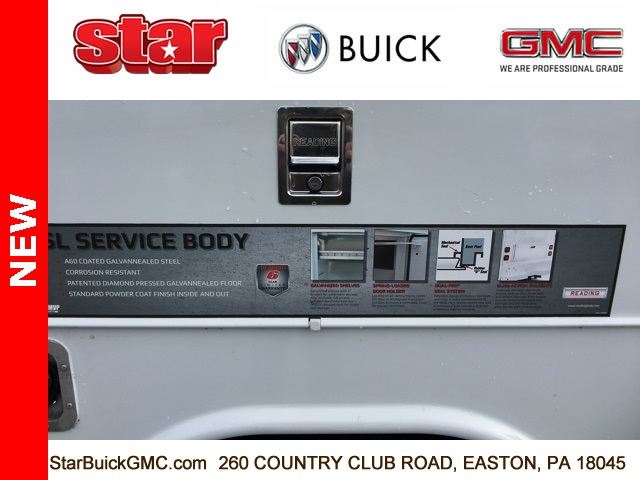 2019 Sierra 3500 Crew Cab 4x4,  Reading Service Body #190067 - photo 26