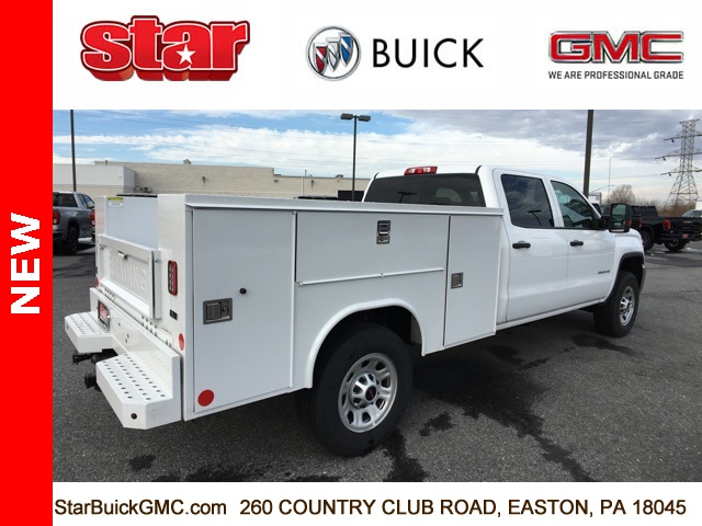 2019 Sierra 3500 Crew Cab 4x4,  Reading Service Body #190067 - photo 8