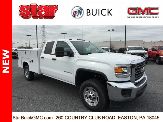 2018 Sierra 2500 Extended Cab 4x4,  Service Body #480212 - photo 3
