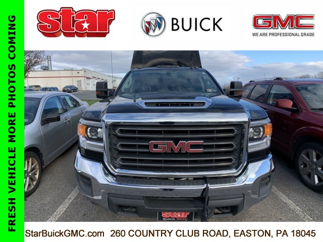 2018 GMC Sierra 3500 Crew Cab 4x4, Reading Classic II Steel Service Body #500093A - photo 1