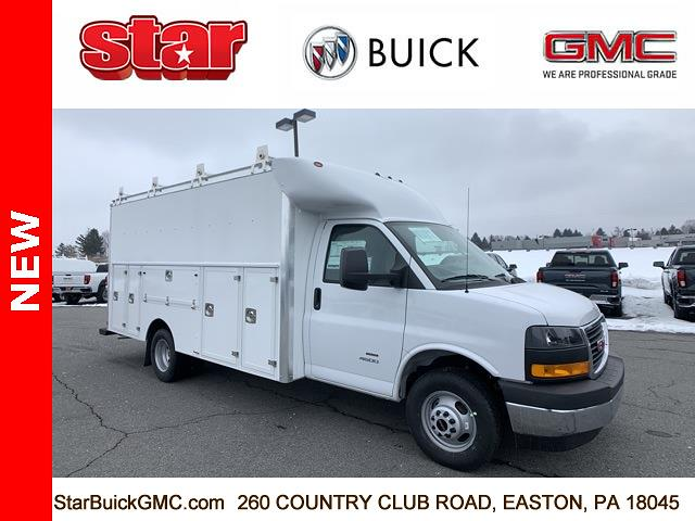 2021 GMC Savana 4500 DRW 4x2, Supreme Service Utility Van #510013 - photo 1
