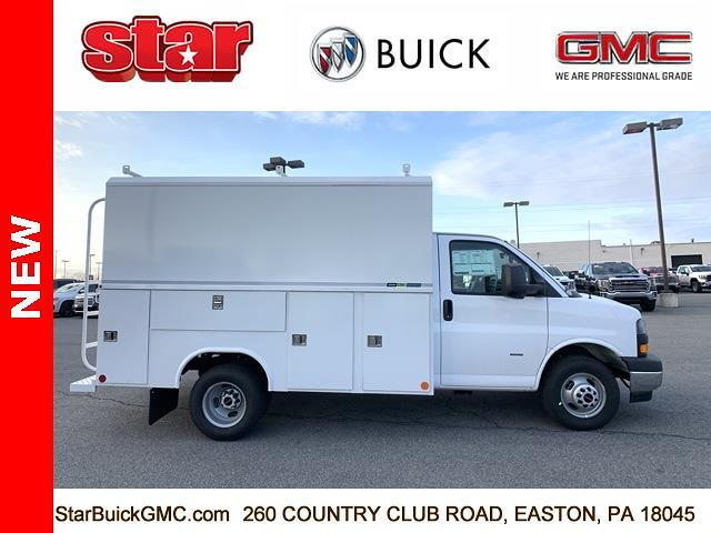 2021 GMC Savana 3500 4x2, Reading Service Utility Van #510020 - photo 1