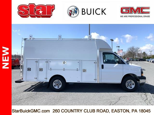 2021 GMC Savana 3500 4x2, Supreme Spartan Service Utility Van #510027 - photo 3