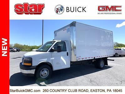 2021 GMC Savana 4500 DRW 4x2, Morgan Parcel Aluminum Cutaway Van #510042 - photo 5