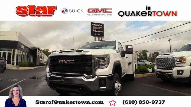 2020 GMC Sierra 3500 Regular Cab 4x4, Reading Service Body #Q20101 - photo 1