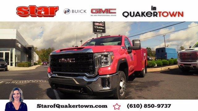 2020 GMC Sierra 3500 Regular Cab 4x4, Reading Service Body #Q20126 - photo 1