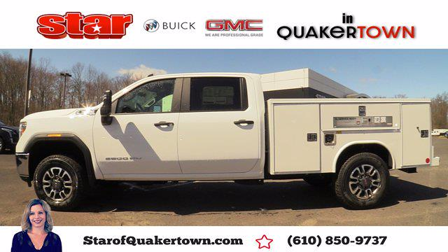 2021 GMC Sierra 3500 Crew Cab 4x4, Reading Service Body #Q21092 - photo 1