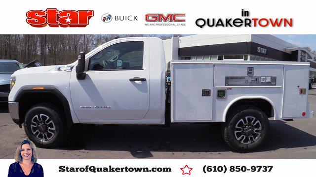 2021 GMC Sierra 3500 Regular Cab 4x4, Reading Service Body #Q21093 - photo 1
